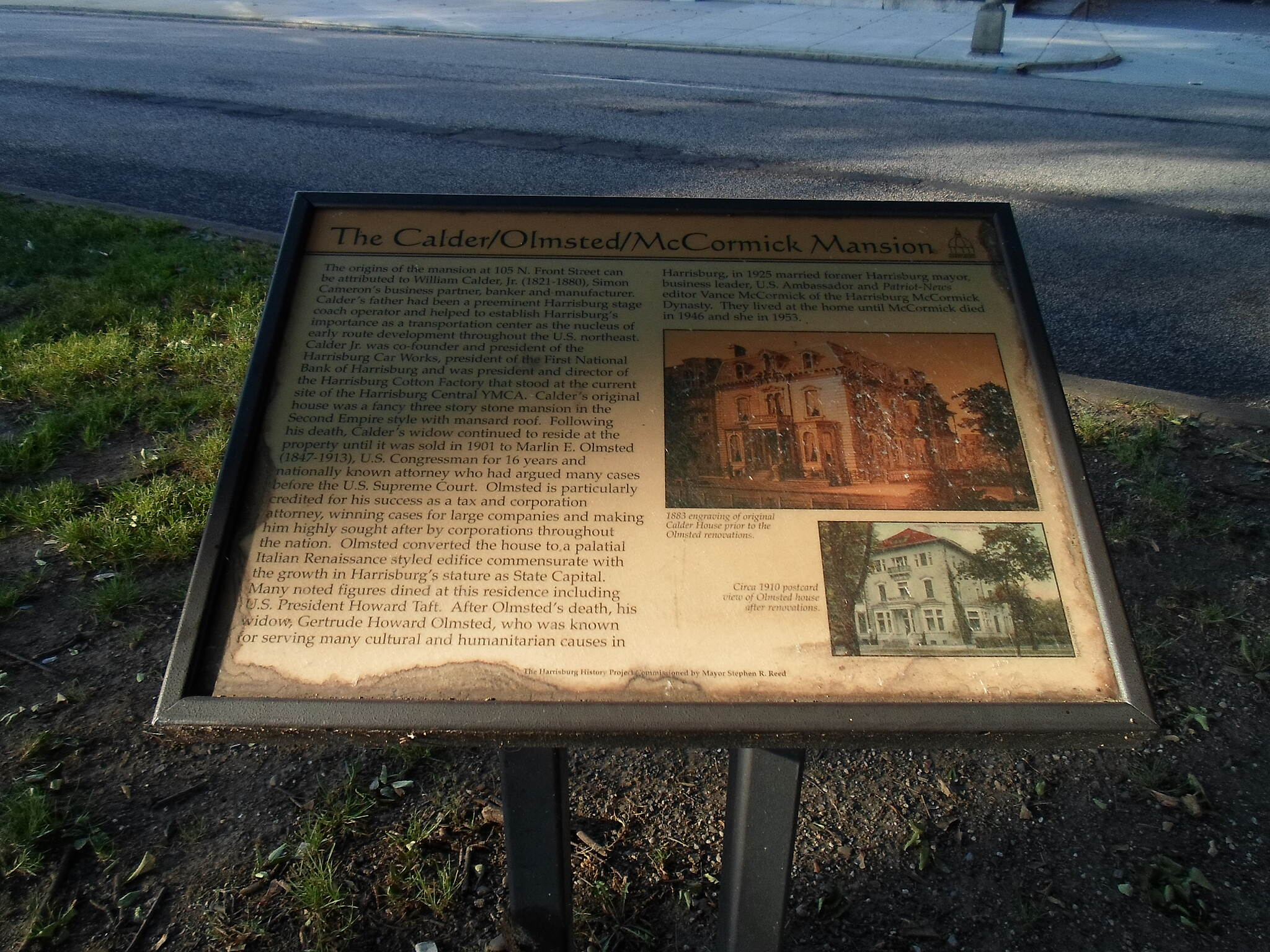 Capital Area Greenbelt Capital Area Greenbelt Interpretive sign across from a key landmark on Front St. in Harrisburg.