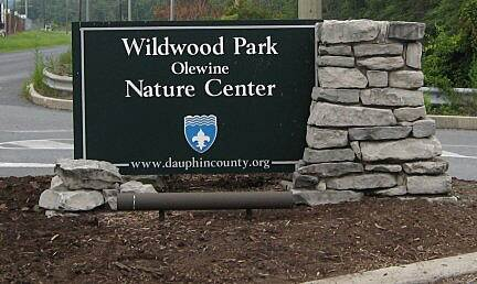 Capital Area Greenbelt Wildwood  Wildwood Nature Park entrance