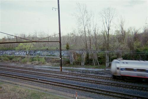 Capital Area Greenbelt Capital Area Greenbelt Crossing the Amtrack lines near the Penn DOT building