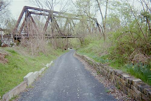 Capital Area Greenbelt Capital Area Greenbelt Another view of the trestle.