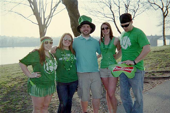 Capital Area Greenbelt Capital Area Greenbelt Celebrating Irish pride on St. Patrick's Day!