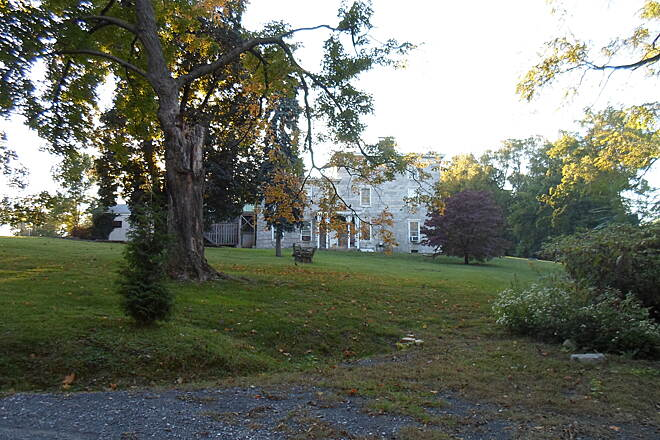 Capital Area Greenbelt Capital Area Greenbelt The stately Rutherford House, located just south of the I-83 underpass and Spring Creek Bridge. Taken fall 2012.