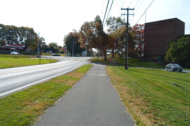 Capital Area Greenbelt Capital Area Greenbelt Following an on-road concurrency along Parkway Blvd. from Reservoir Park (home of the city's Civil War Museum)to Route 22, the trail resumes as a side path along Edgemont Road.