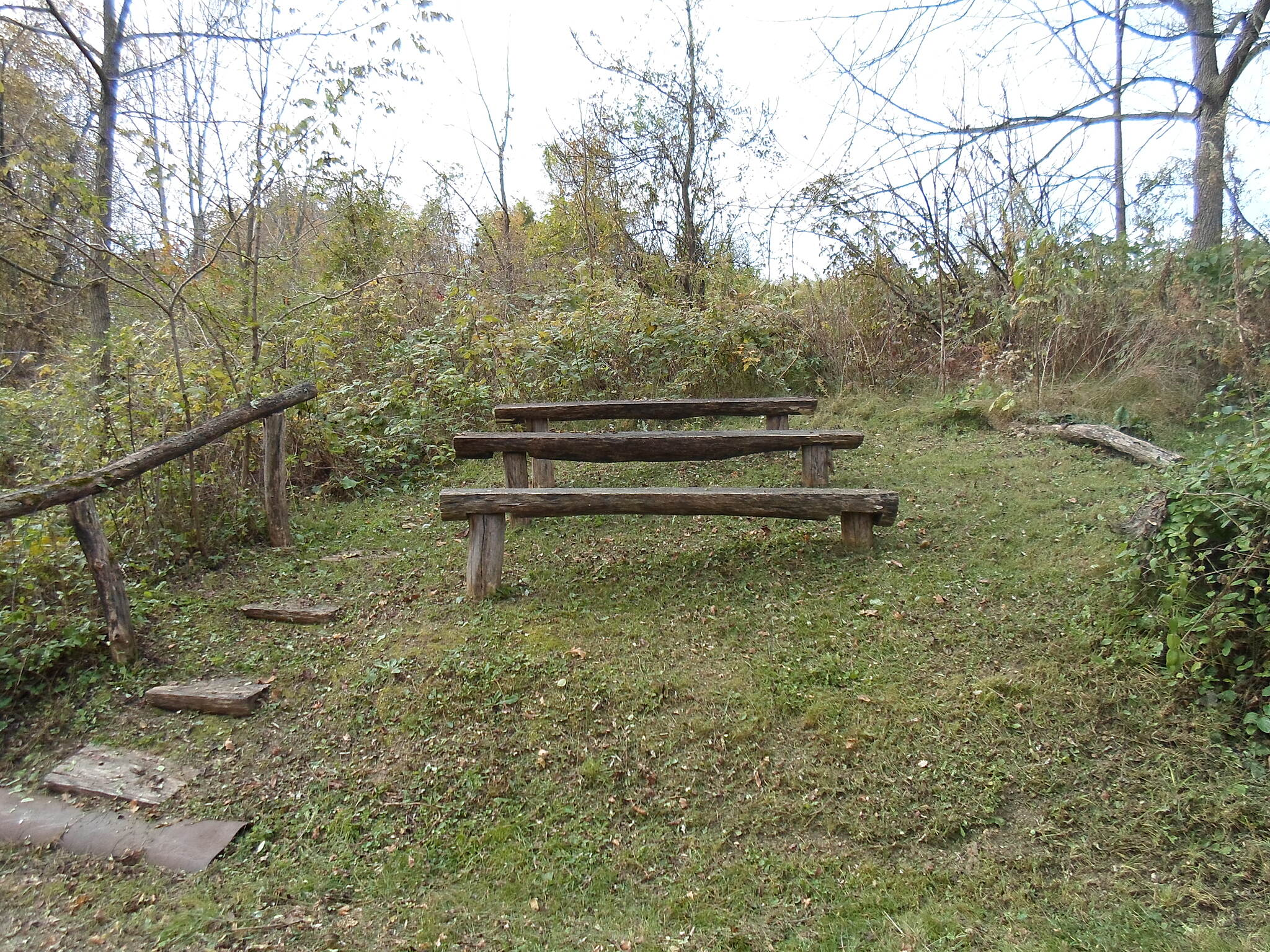Capital Area Greenbelt Capital Area Greenbelt Mini-amphitheater off the Link Trail, where presentations on the local environment are sometimes held.