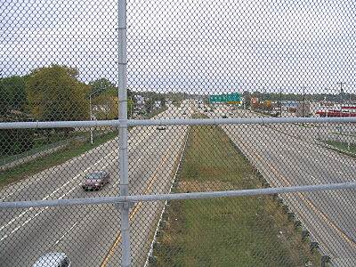 Capital City State Trail The commute to work The bike path is a popular commuting option for Madison residents, and seems like a much better way to get to work than this highway. The bridge over the highway is a reminder of what you're (not) missing.