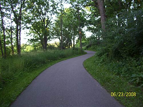 Capital City State Trail   Near the southwest end.