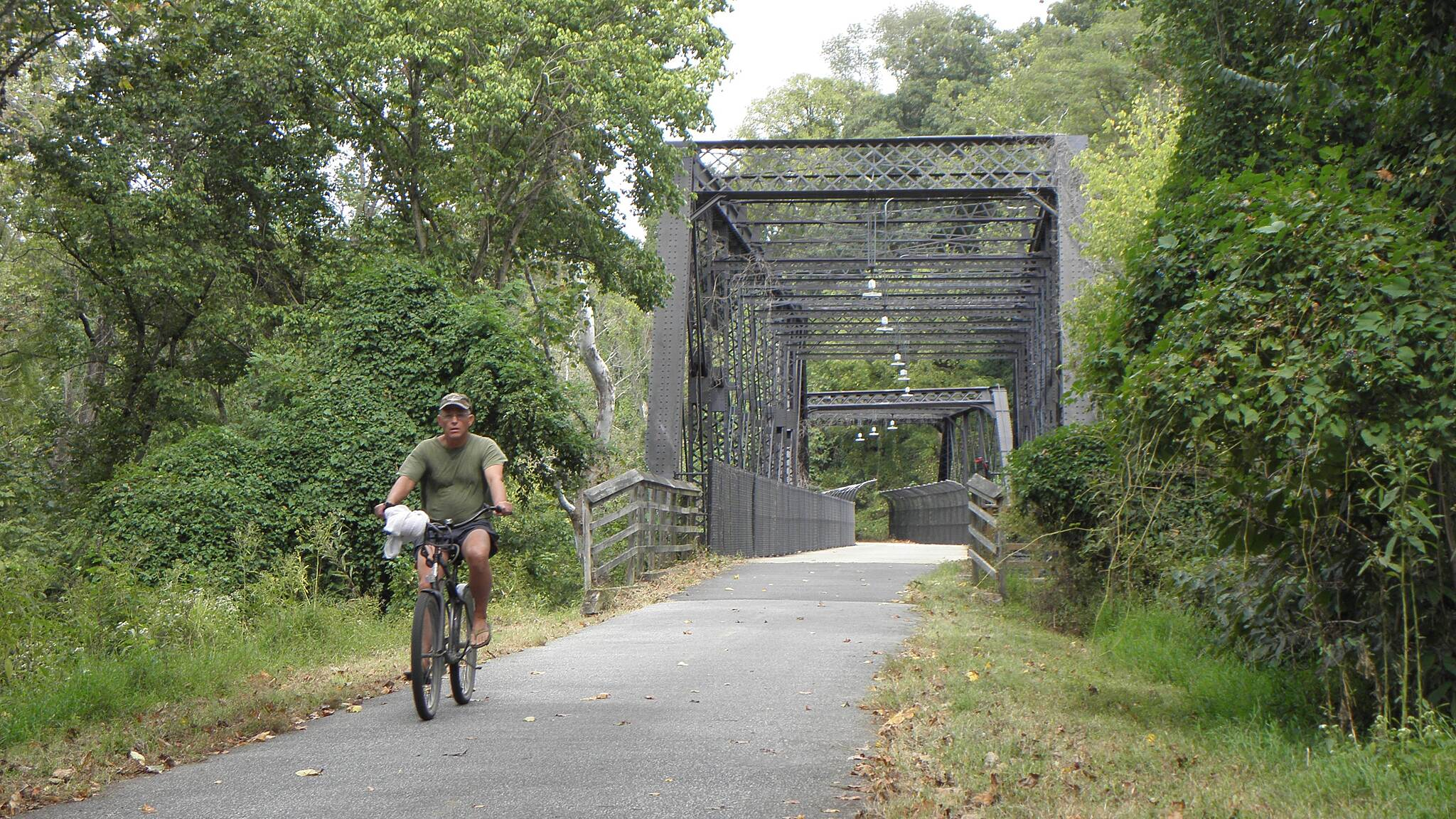 Capital Crescent Trail Bridges over C & O Canal and Canal Road.