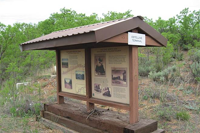 Caprock Canyons State Park Trailway Estelline Trailhead