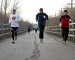 Cardinal Greenway Cardinal Greenway Training for the Indy Mini-Marathon