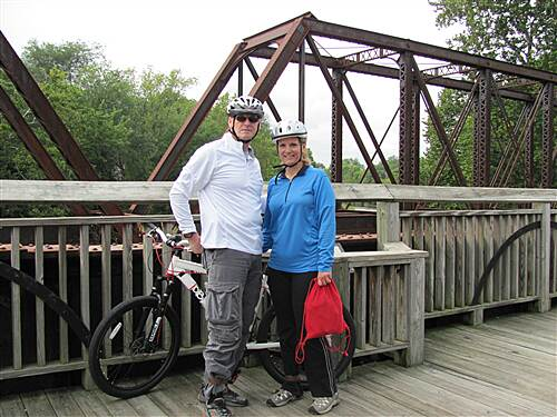 Cardinal Greenway Gaston south for 15 miles Nice ride
