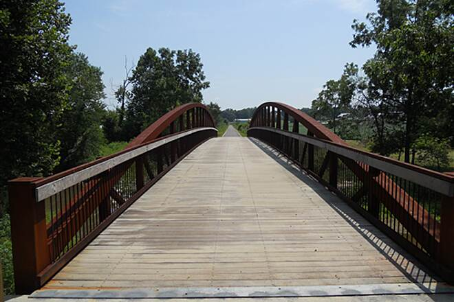 Cardinal Greenway  Bridge in Economy