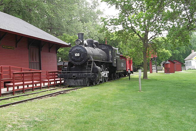 Casey Jones State Trail Rail Road Museum in Currie, MN