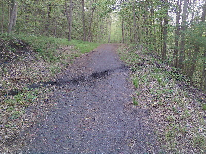 Catharine Valley Trail Catherine Valley Trail A new wrinkle this year, the trail dropped a foot, so take care riding!