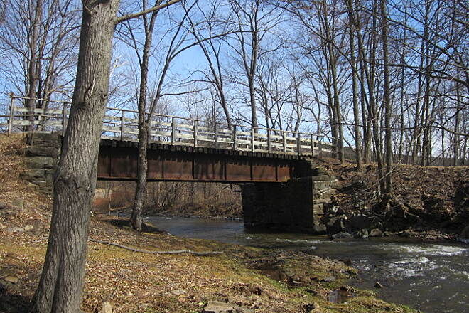 Catskill Scenic Trail Trail Bridge