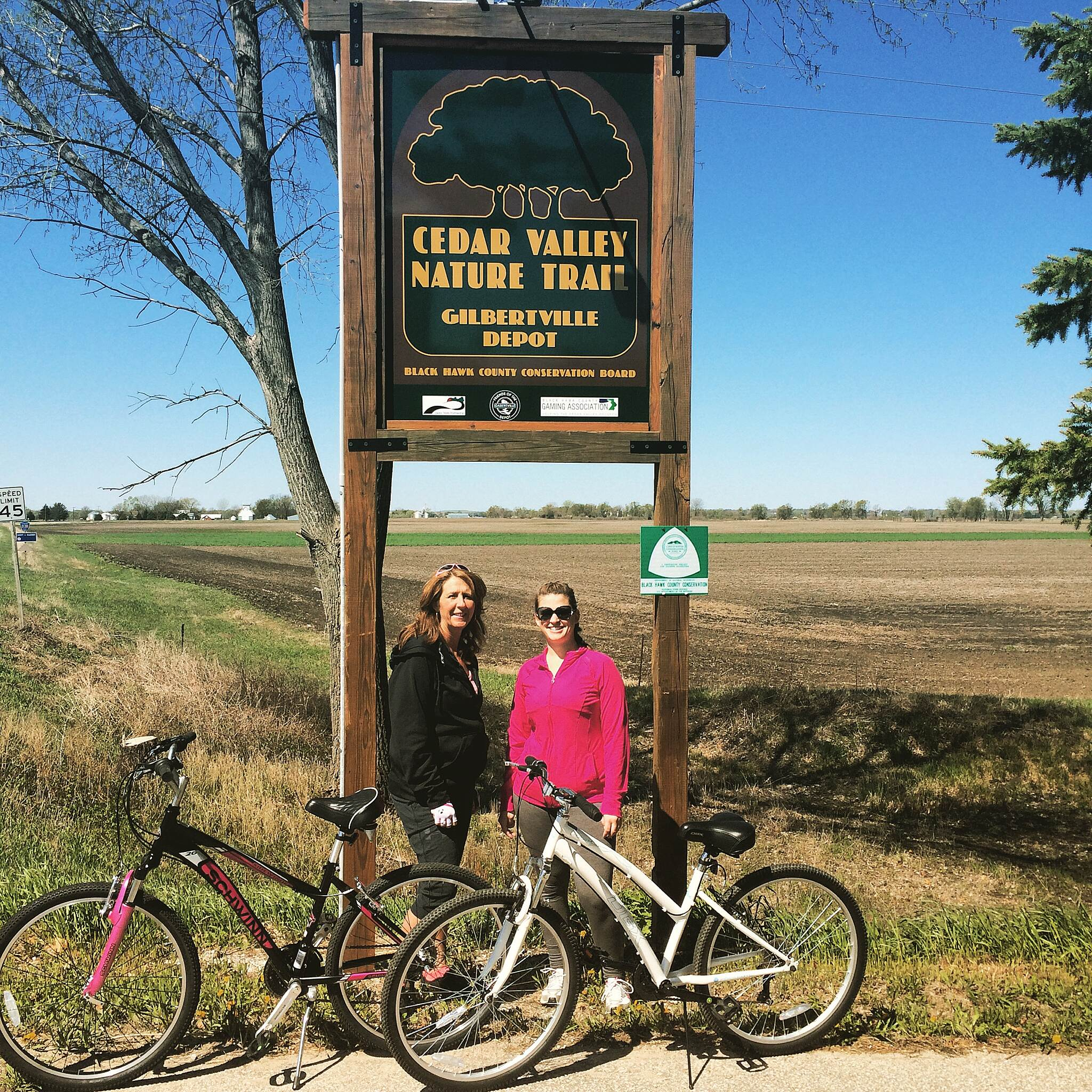 Cedar Valley Nature Trail Sunday Morning Ride Rise and Shine! #bikeride #cedarvalleynaturetrail