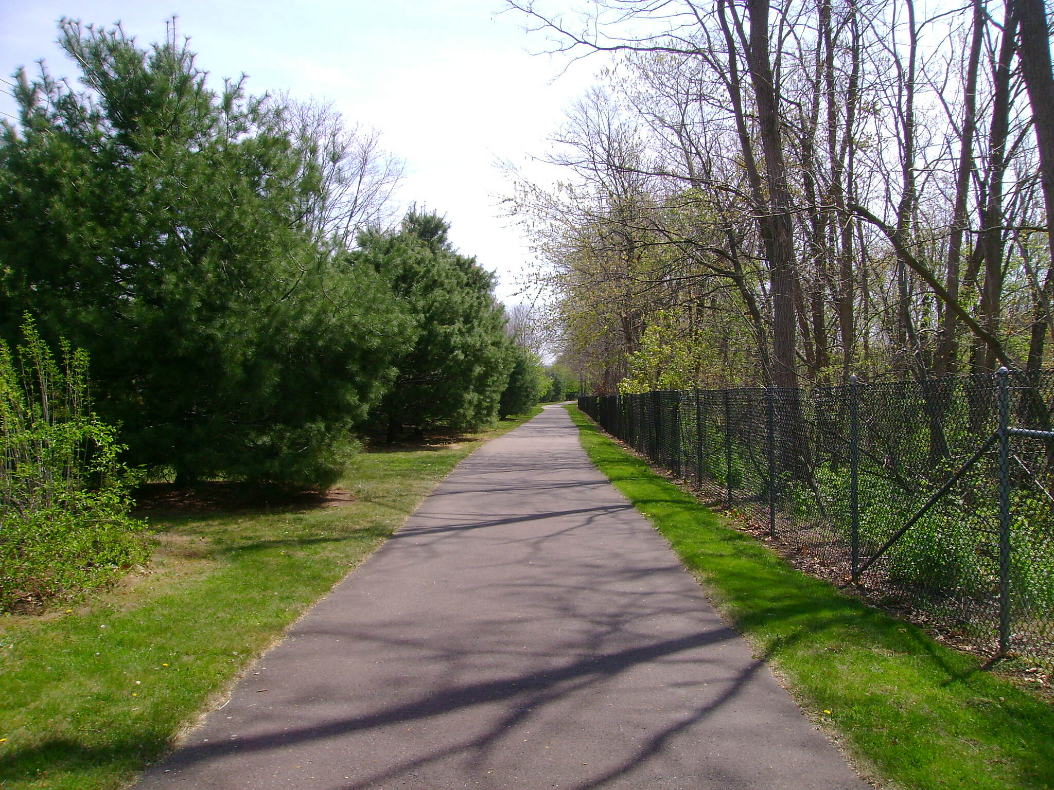 Charter Oak Greenway Manchester trail Near Hartford Road