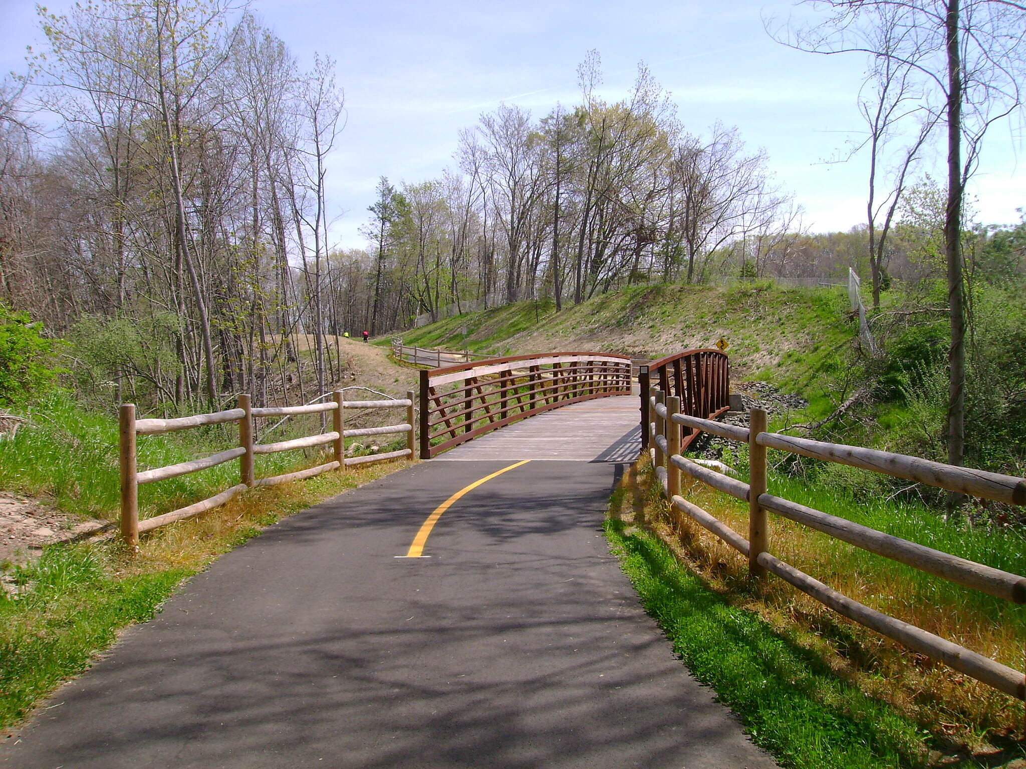 Charter Oak Greenway Manchester trail