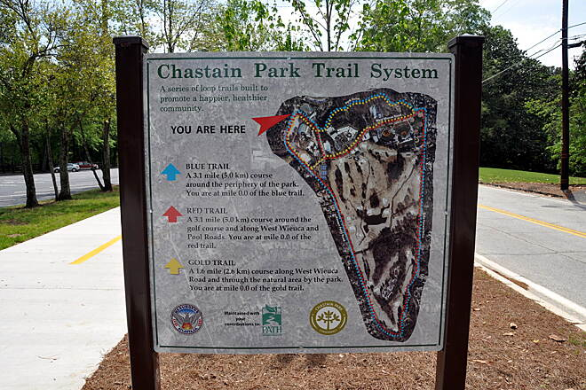 Chastain Park Trail Chastain Park Trail