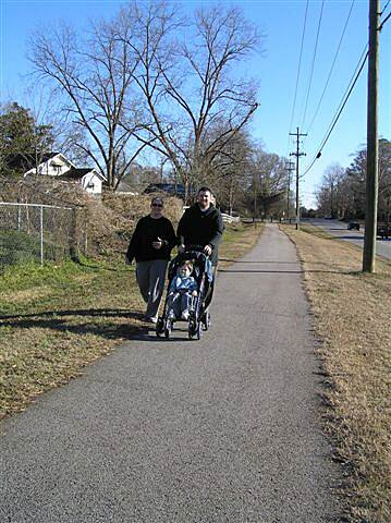 Chattahoochee Valley Railroad Trail Local users The paved trail is used by many local residents.
