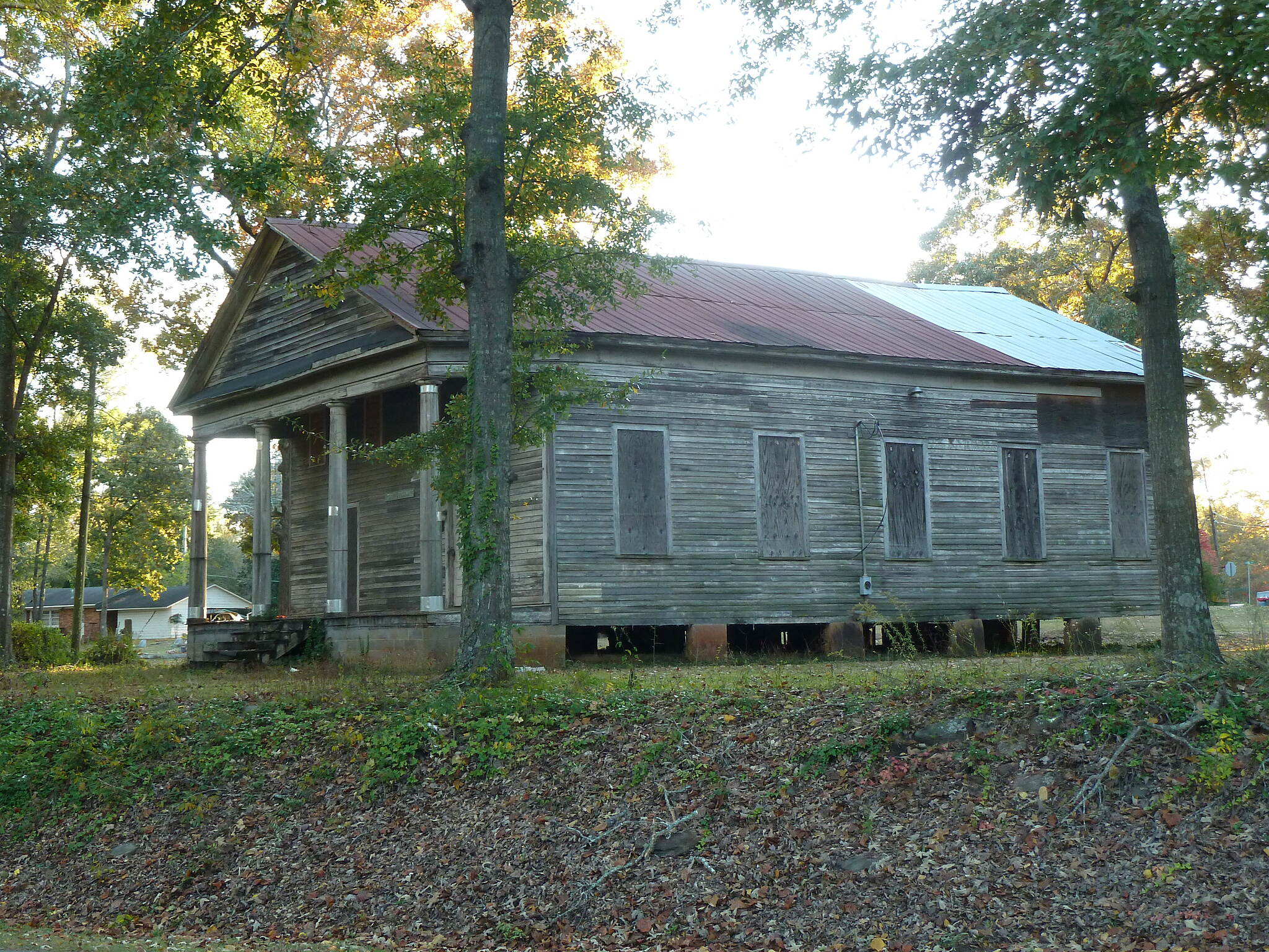 Chattahoochee Valley Railroad Trail Old Bethlehem Church
