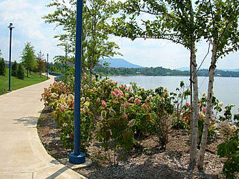Chattanooga Riverwalk (Tennessee Riverpark) Along the Tennessee River