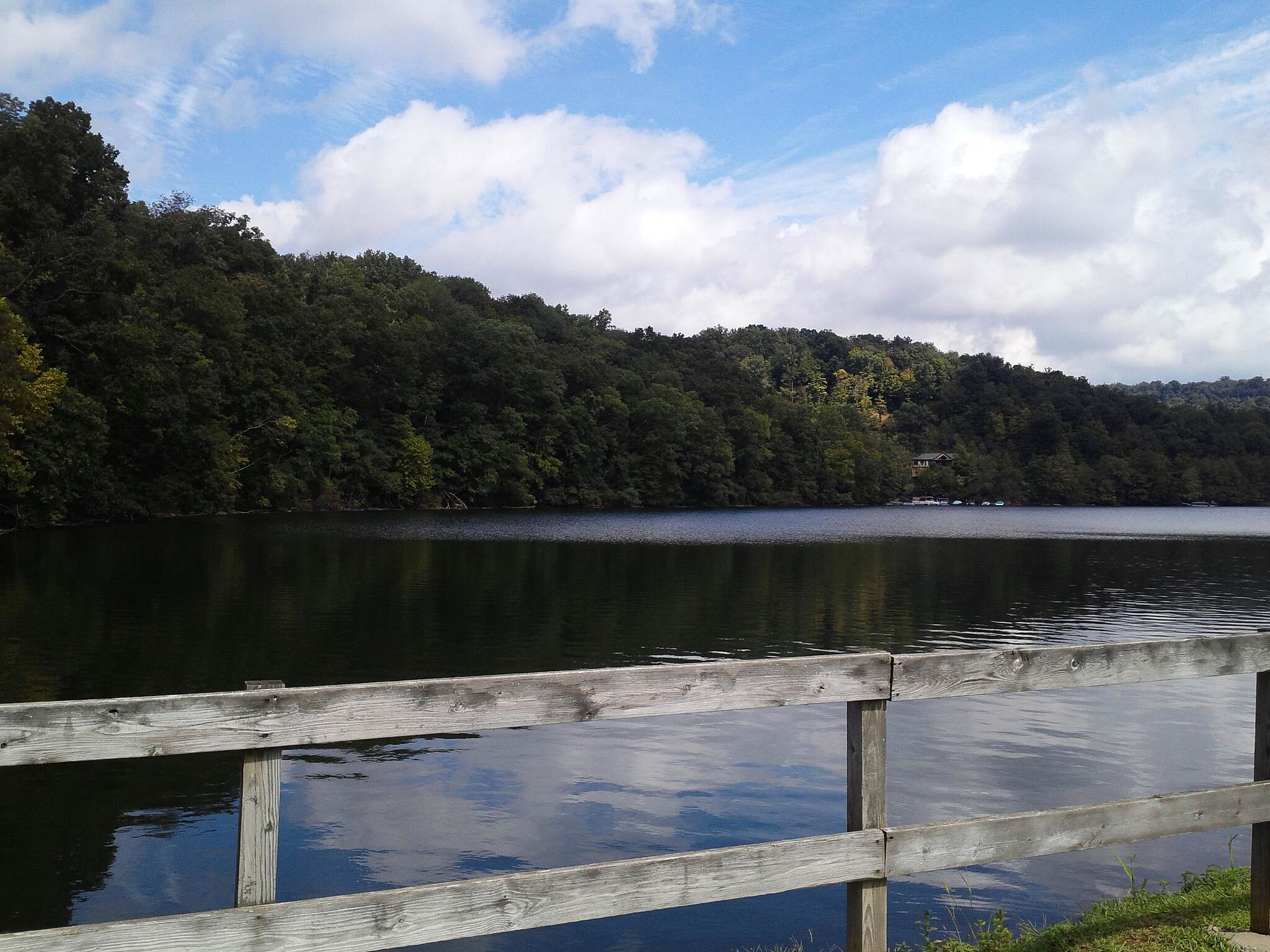 Cheat Lake Trail 9/13/2014