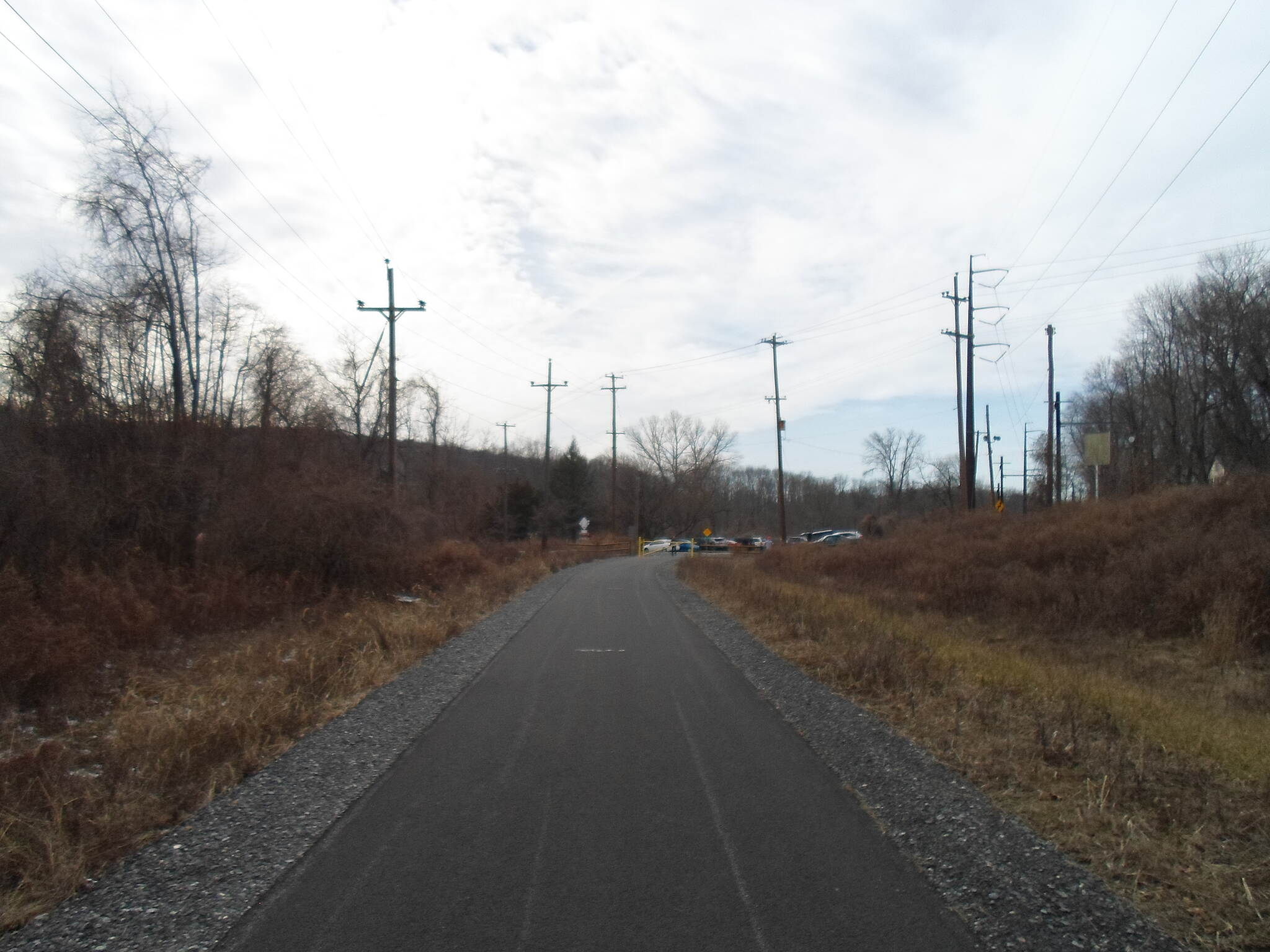 Chester Creek Trail Chester Creek Trail Approaching Lenni Road, the northern terminus of the trail, as of early 2017.