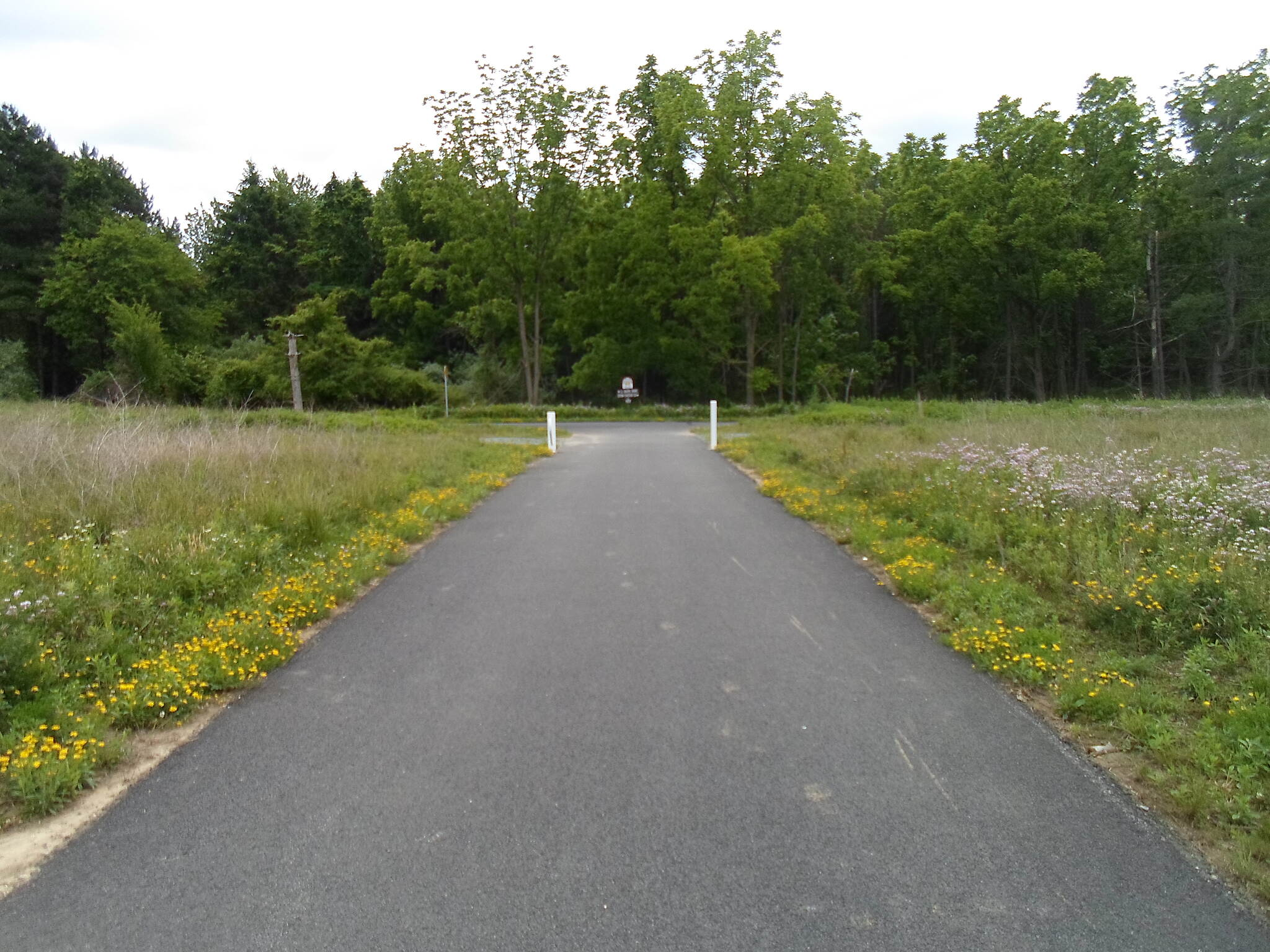 Chester Valley Trail Chester Valley Road Connector path from the new, Warner Road trailhead to the trail itself.