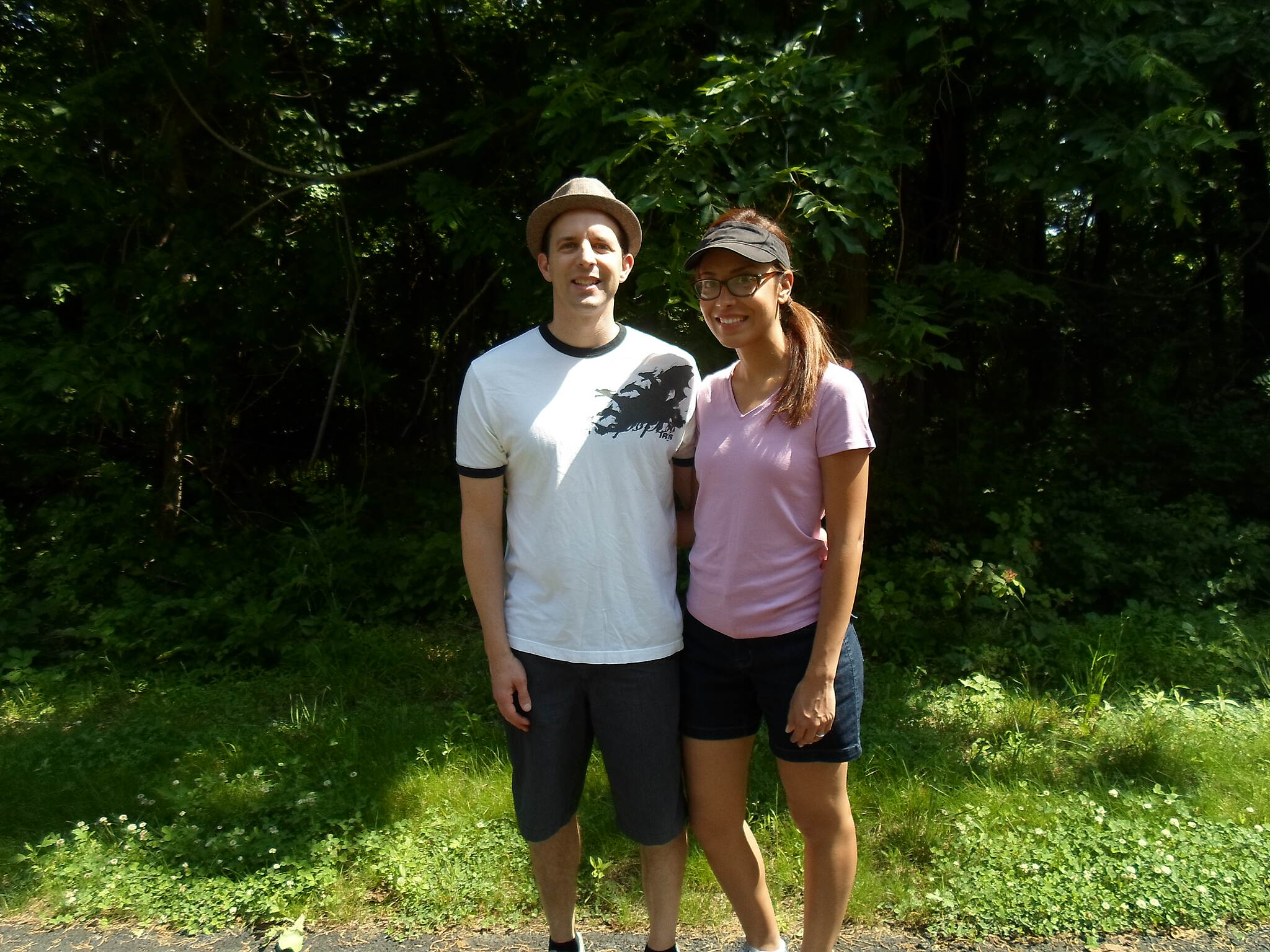 Chester Valley Trail Chester Valley Trail Couple enjoying an early summer stroll on the trail in eastern Chester County. Taken June 2015.