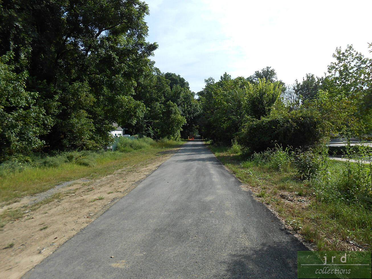 Chester Valley Trail Trail Beyond CHR The newly-paved section after Cedar Hollow Rd. taken on Sept. 5, 2013. Not yet open for use as of date stamp.