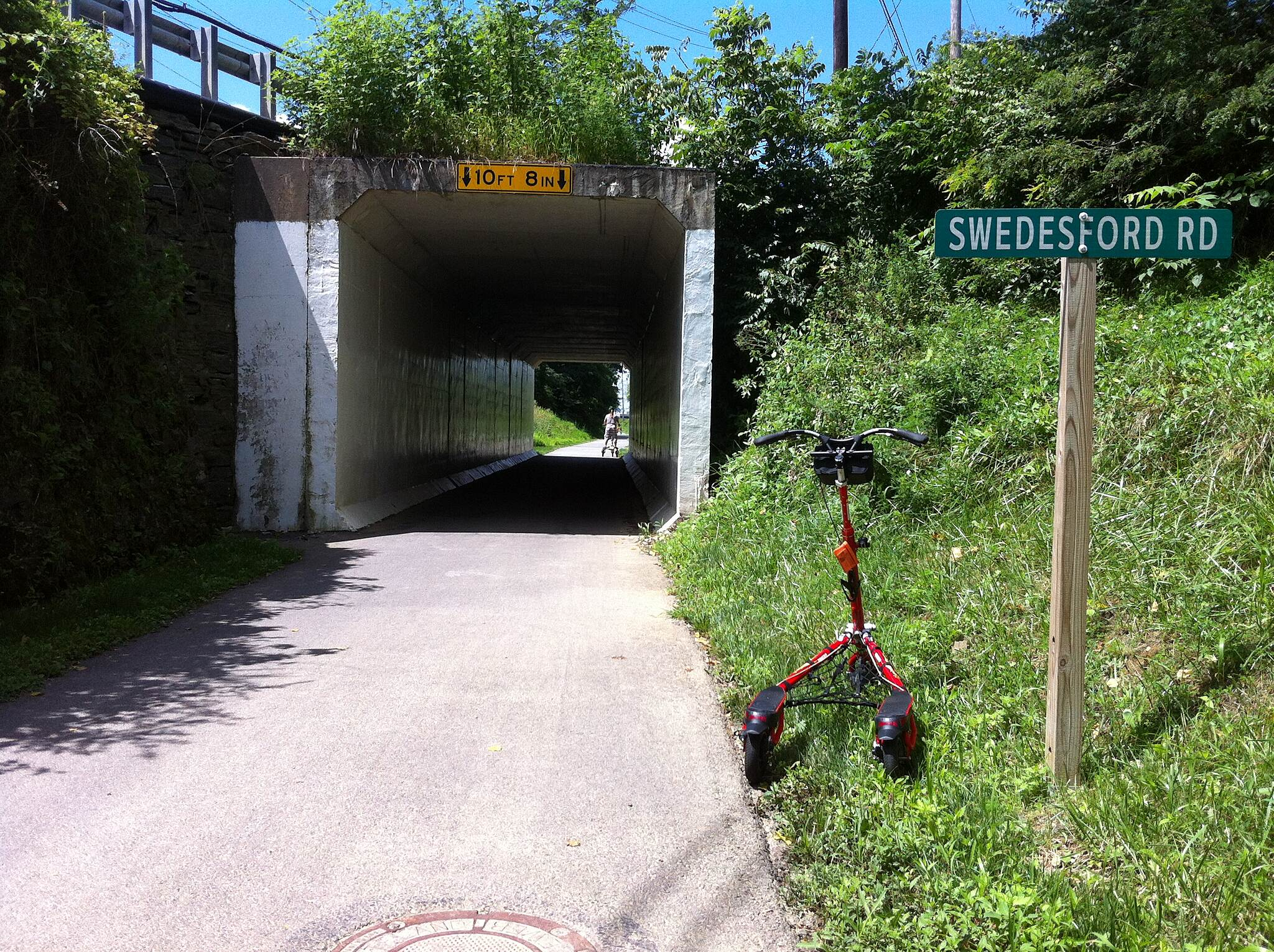 Chester Valley Trail underpass