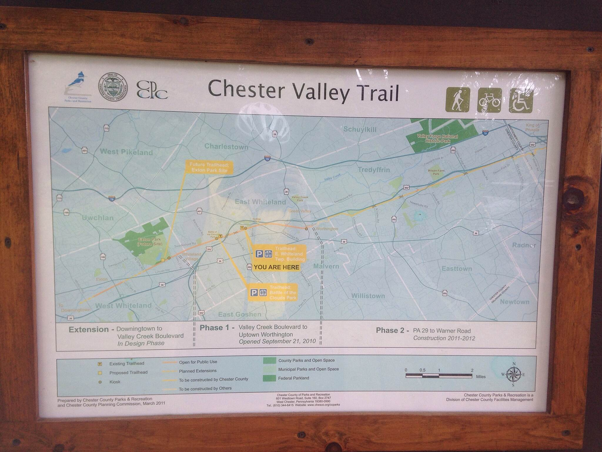 Chester Valley Trail Chester Valley Trail
