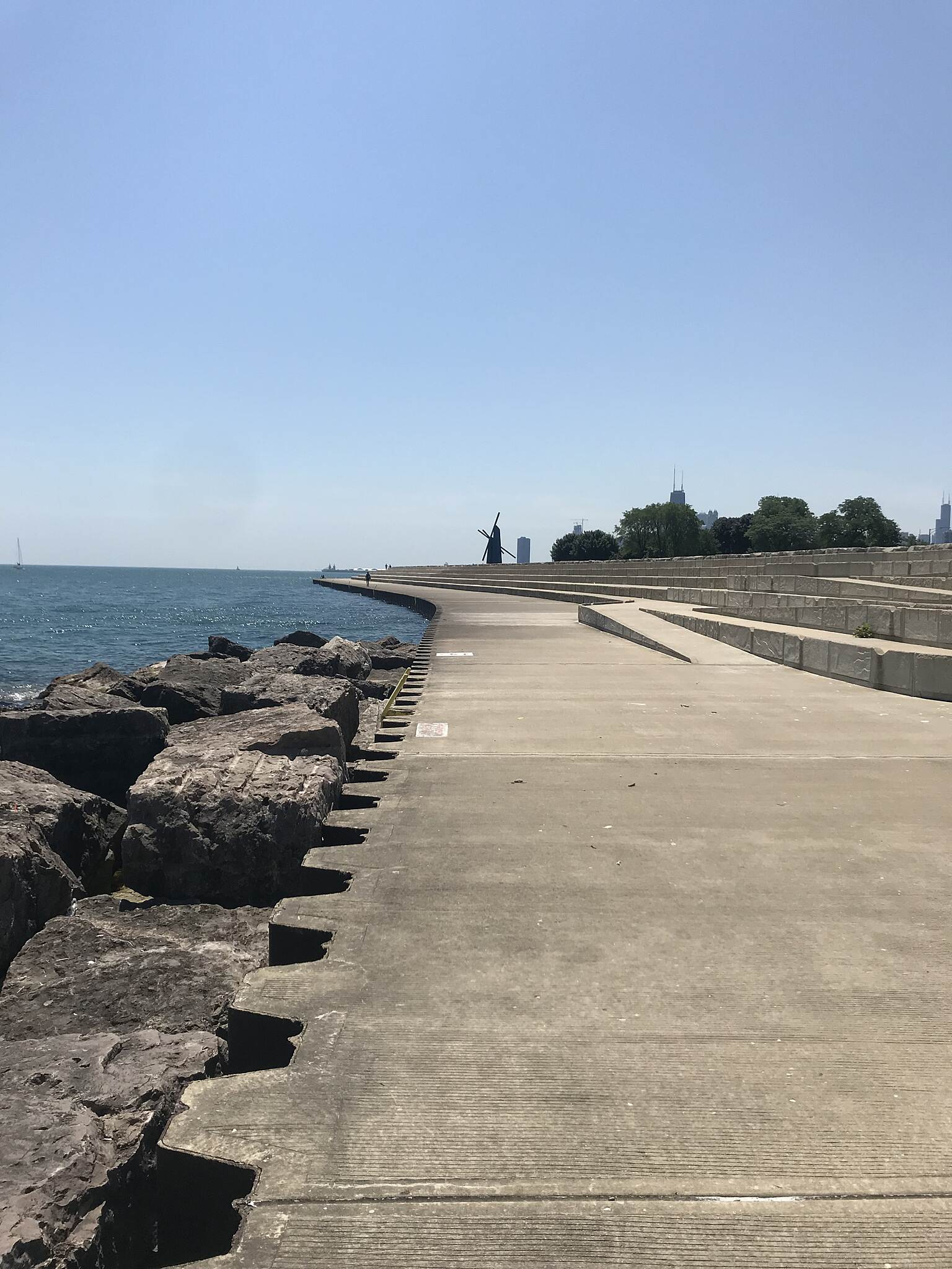 Chicago Lakefront Trail 29 jun 18 Lakefront
