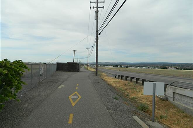 Chico Airport Bike Path Chico Airport Trail Out in the open