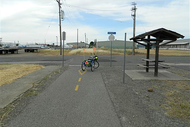 Chico Airport Bike Path Chico Airport Trail I made it on a one gear threewheeler bike.