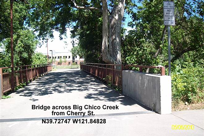 Chico State Bike Path Chico State Bike Path Start from Cherry St on Campus