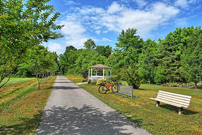 Chief Ladiga Trail Trailside Park in Jacksonville It's simply fantastic how well that trail is maintained.