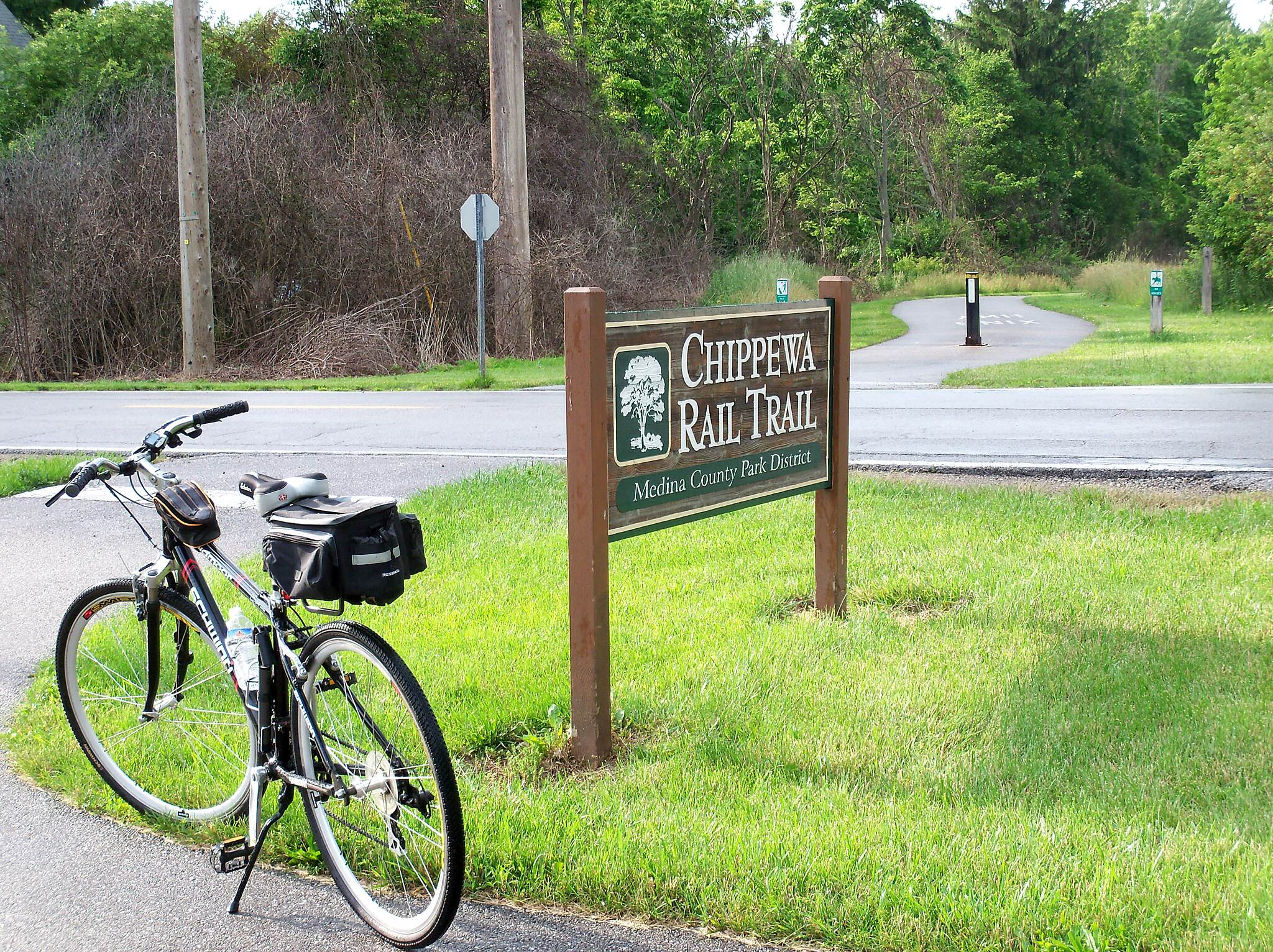Chippewa Rail-Trail Start of Trail