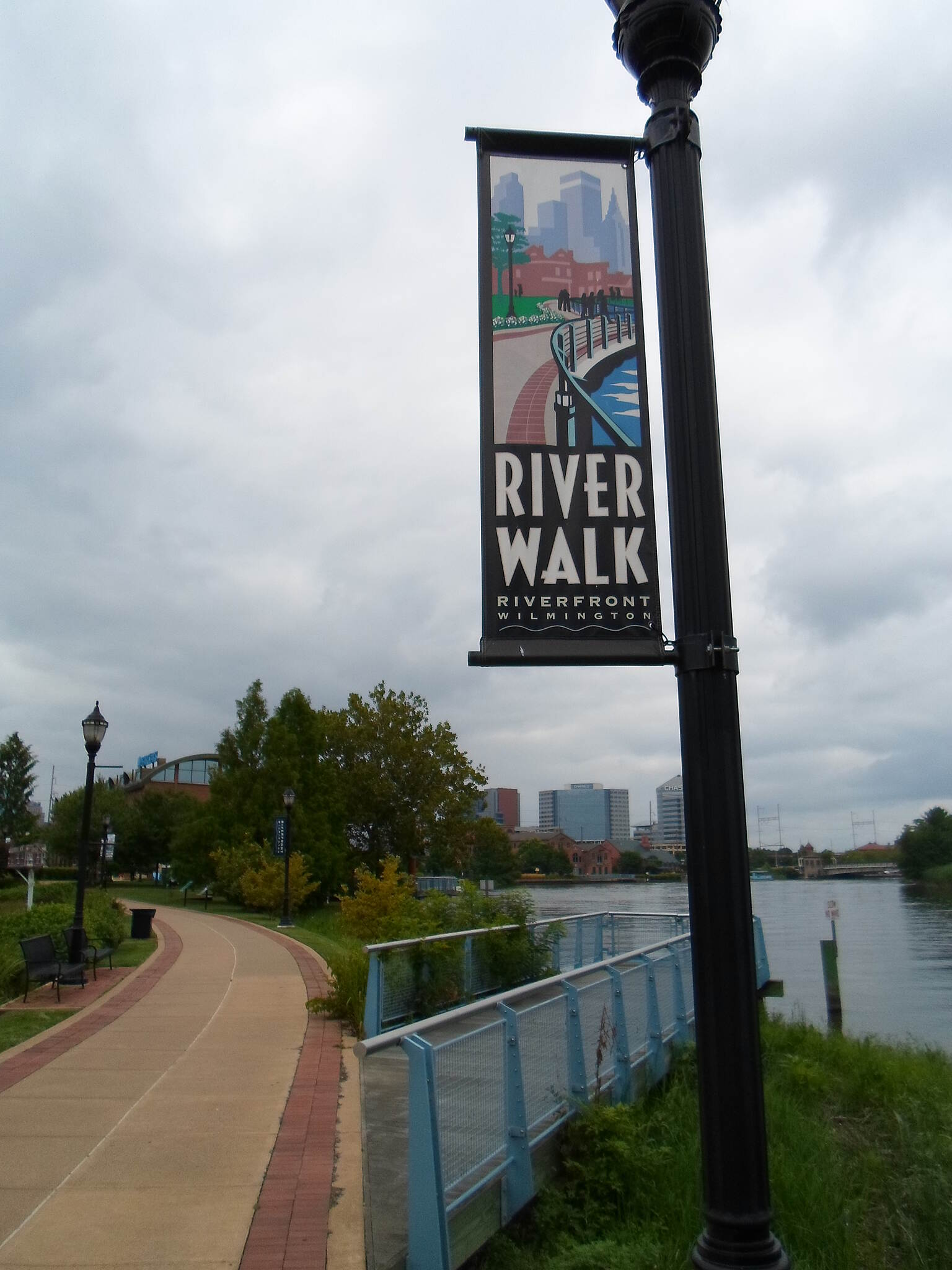 Christina Riverwalk Christina Riverwalk Decorative banner.