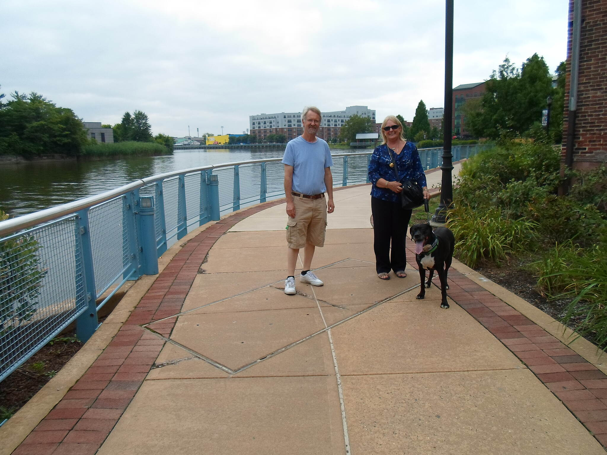 Christina Riverwalk Christina Riverwalk Couple enjoying the day with their dog. Taken August 2014.