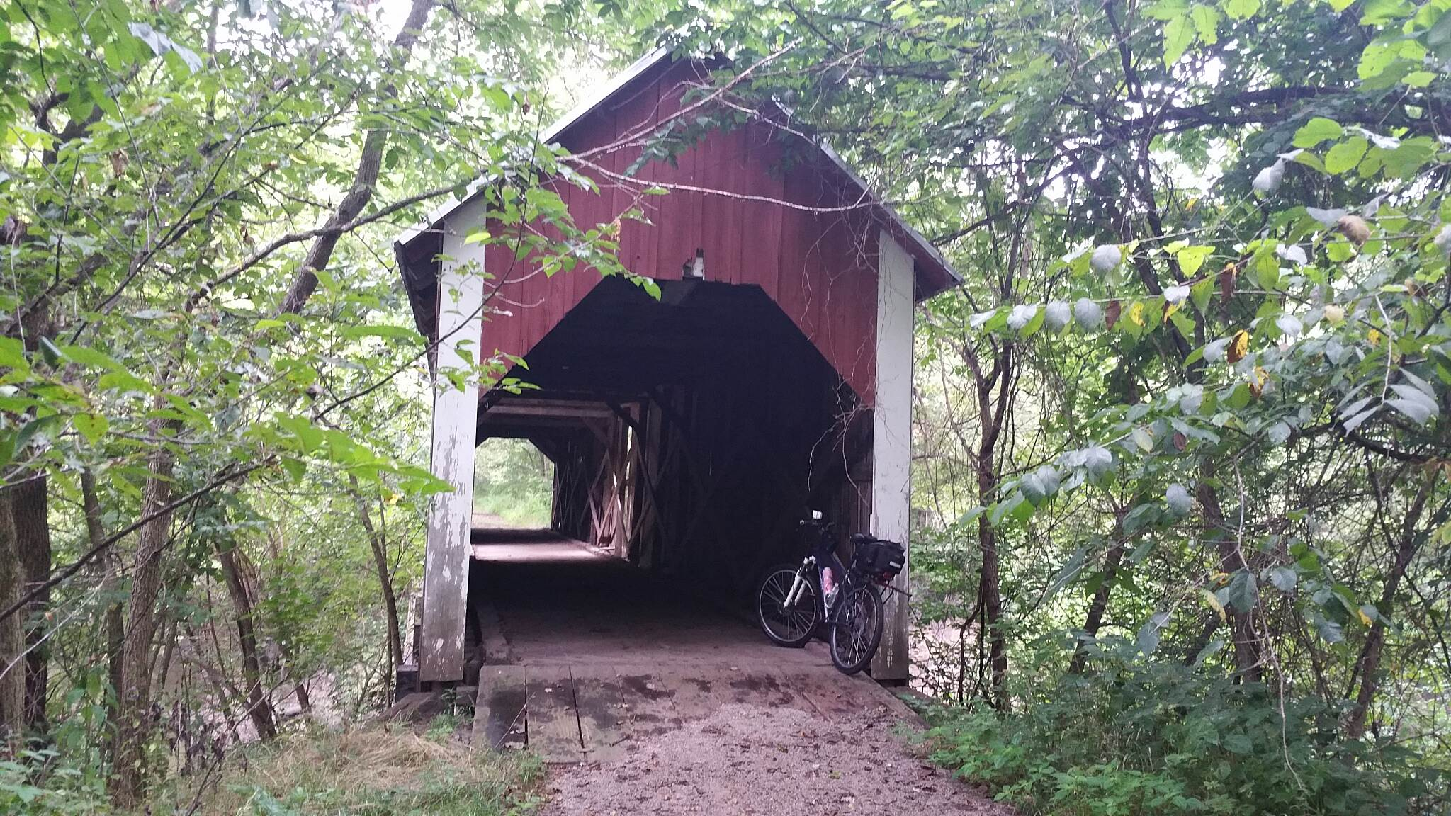 Cinder Path the covered bridge the covered bridge