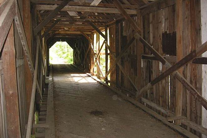 Cinder Path Covered Bridge  Covered Bridge