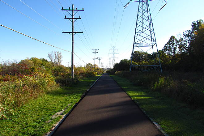 City of Franklin Hike and Bike Trail New pavement