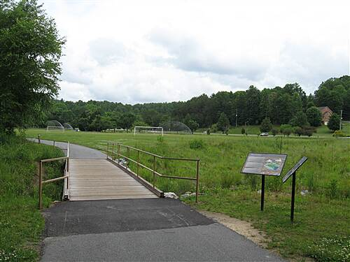 City of Lenoir Greenway City of Lenoir Greenway Wilson Athletic Fields walking bridge