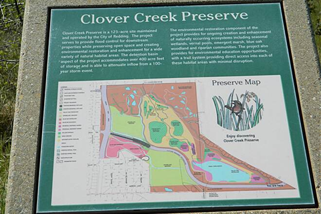 Clover Creek Preserve Trail Clover Creek Preserve Trail  Close Up