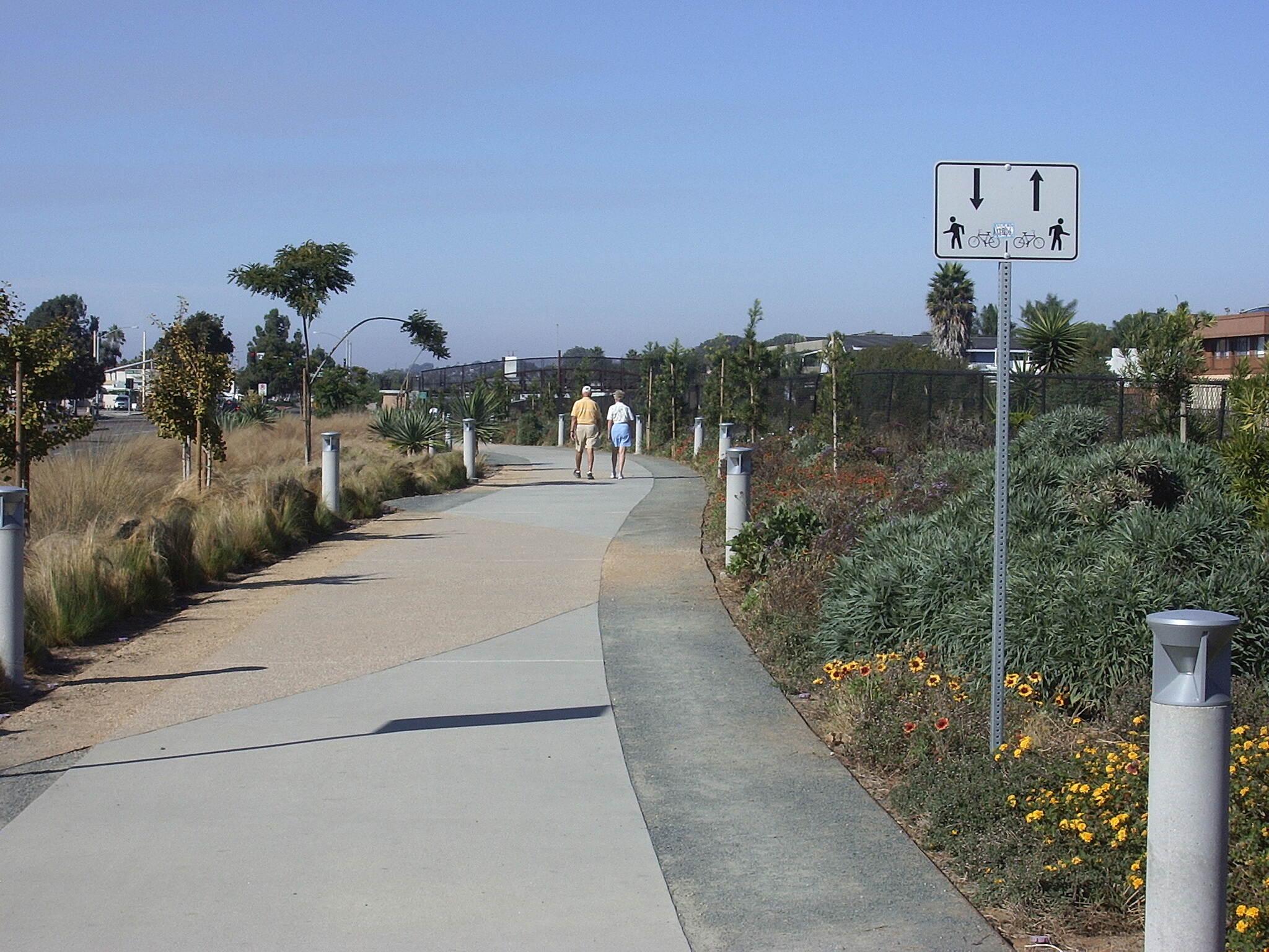 Coastal Rail Trail Solana Beach Trai