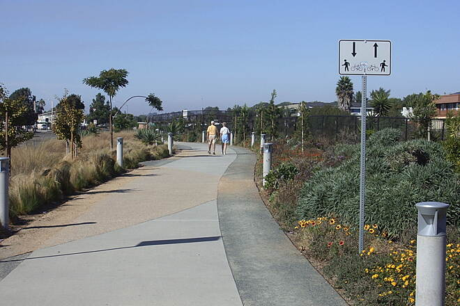 Coastal Rail Trail Solana Beach Coastal Rail Trai
