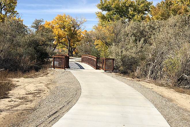 Colorado Riverfront Trail Co Riverfront Trail F-L 2018-1 Eastern Start of New Section Fruita to Loma