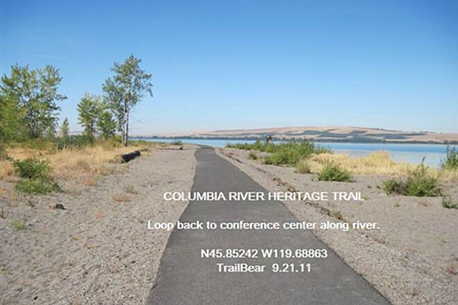 Columbia River Heritage Trail COLUMBIA RIVER HERITAGE TRAIL Down river loop to hotel and conference center