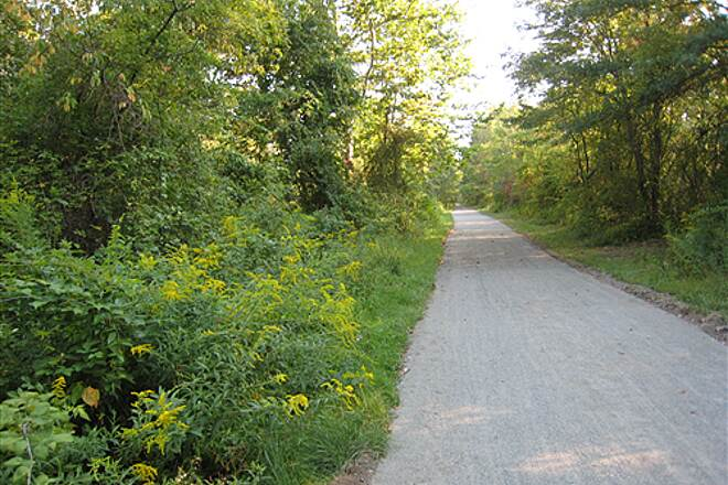 Columbia Trail Upgraded trailbed from Long Valley The trail from Long Valley to the Hunterdon County line has been upgraded along the entire length